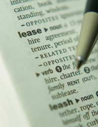 Lease Rental Agreement Rent Tenant